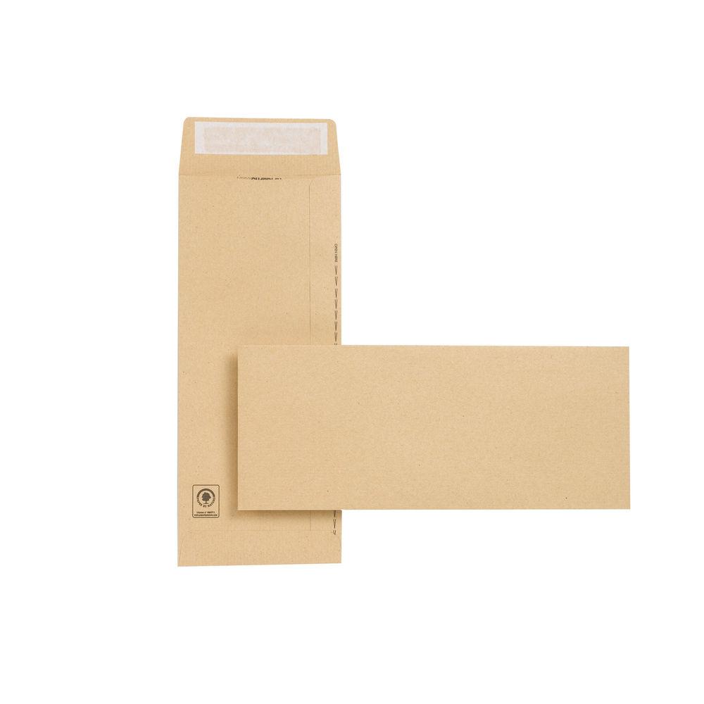 New Guardian Professional Manilla Peel and Seal Envelopes 130gsm (Pk250) C27603