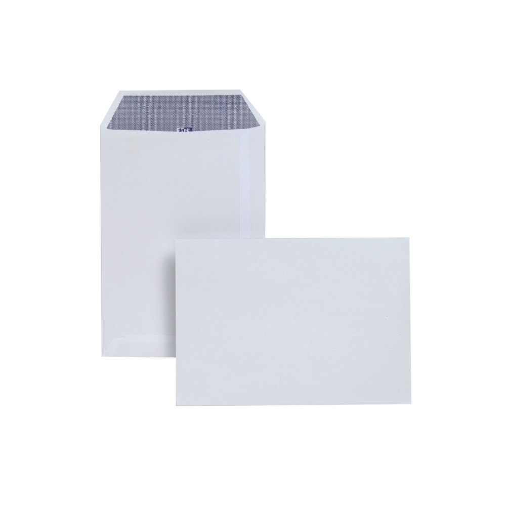 Plus Fabric White Self Seal Pocket C5 Envelopes 110gsm, Pack of 250 - JDD23770