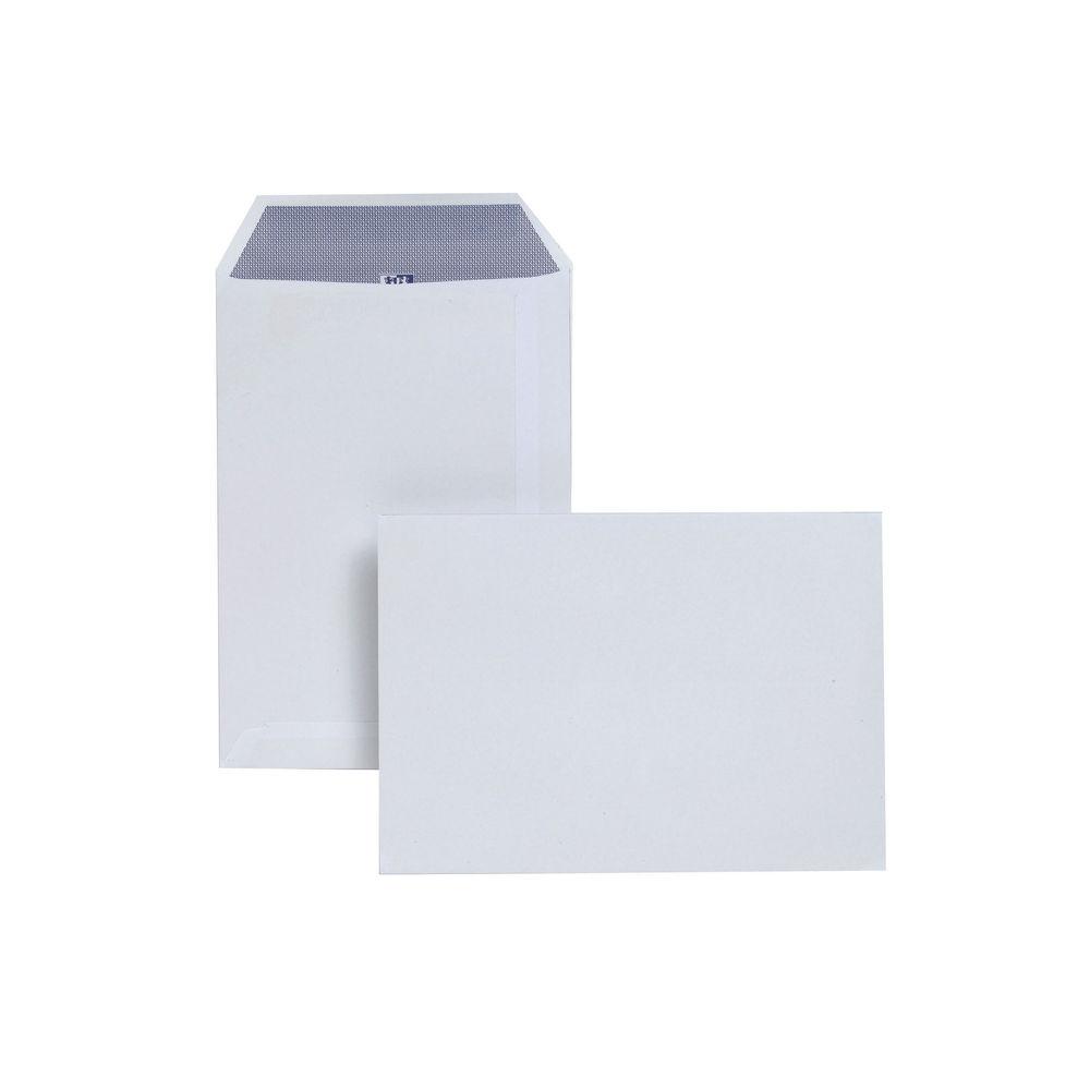 Plus Fabric White Self Seal Pocket C5 Envelopes 110gsm, Pack of 250 - JDD23770
