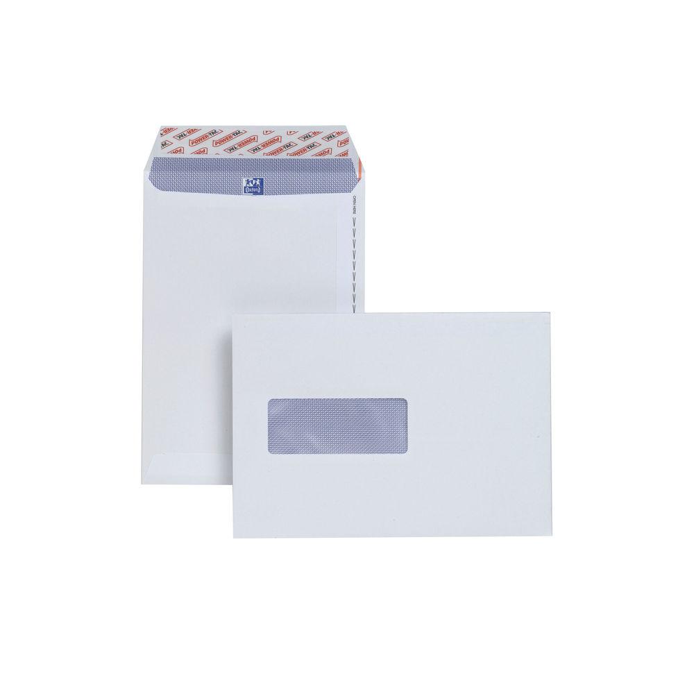 Plus Fabric C5 White Window Pocket Envelopes, Pack of 500 - E24970