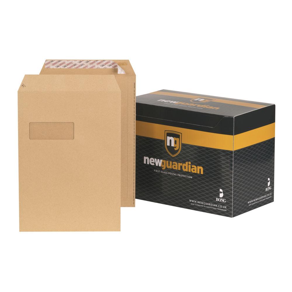 New Guardian Manilla Easy Peel C4 Window Envelopes 130gsm - Pk250 - F24203