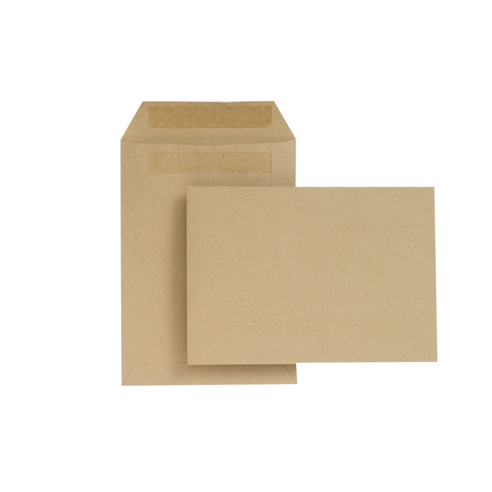 New Guardian Manilla C5 Self Seal Envelopes 80gsm, Pack of 500 - H26211