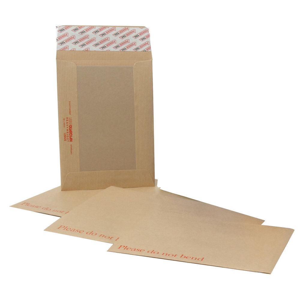 New Guardian C4 Envelopes Board Back Manilla (Pack of 125) H26326