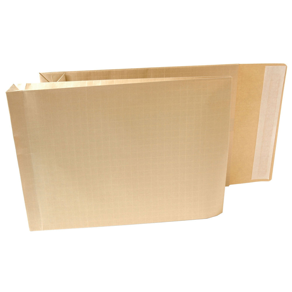 New Guardian 381 x 279mm Manilla Armour Gusset Envelopes, Pack of 100 - H28313