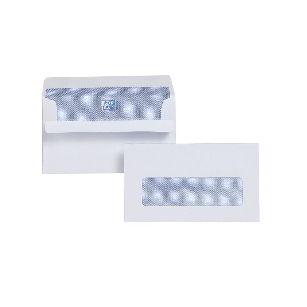 Plus Fabric Pro Bright White 89 x 152mm Window Envelopes 110gsm - L22070