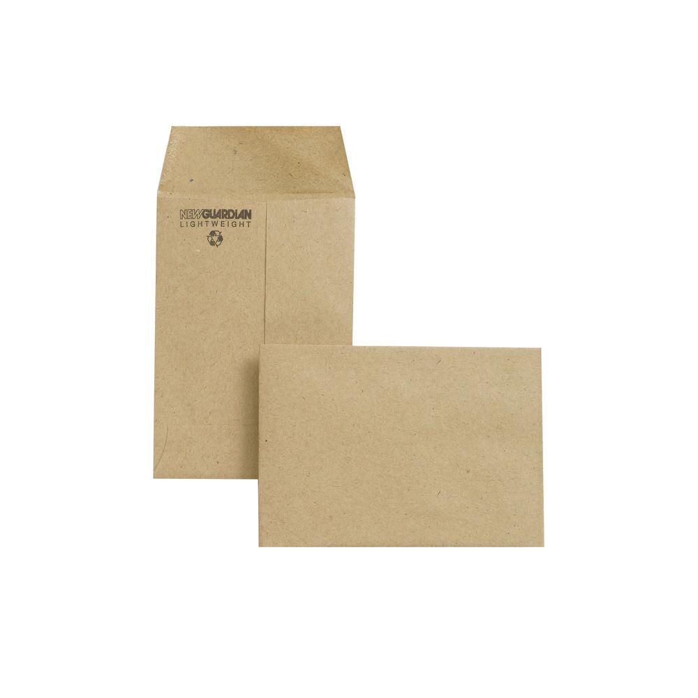 New Guardian Pocket Manilla Gummed Envelopes 80gsm - Pack of 2000 - M24011