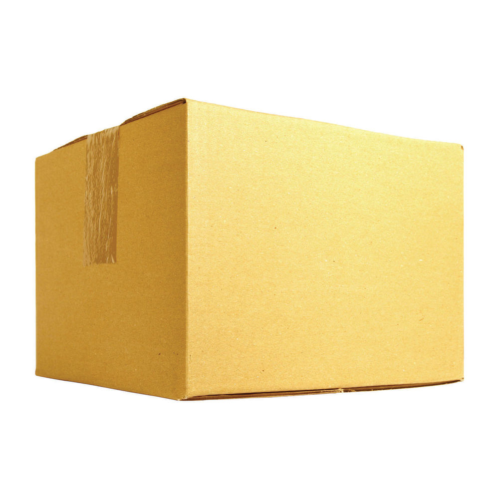 Single Wall 178x178x178mm Corrugated Cardboard Boxes, Pack of 25 - SC-04