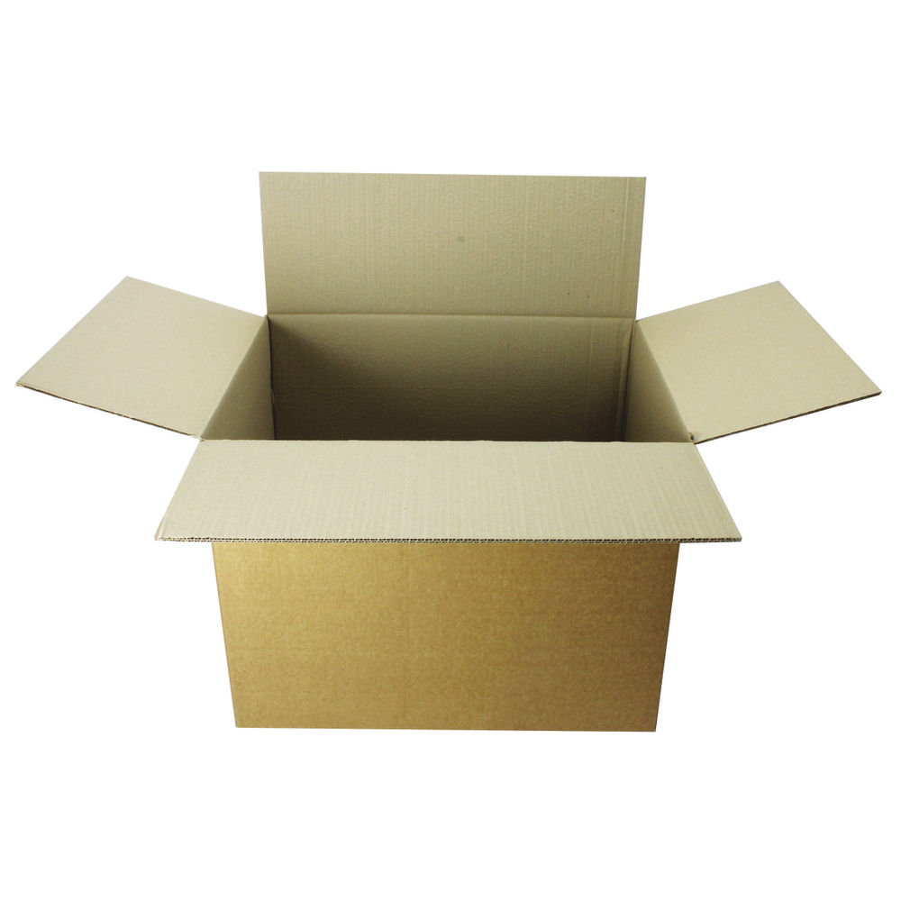 Double Wall 610mm x 457mm x 457mm Cardboard Boxes, Pack of 15 - SC-67