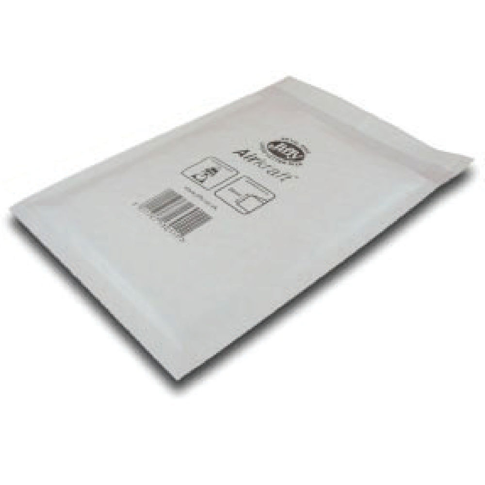 Jiffy Airkraft White Size 6 Mailers, Pack of 50 - JL-6