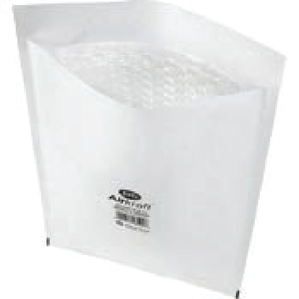 Jiffy Airkraft White Size 7 Mailers, Pack of 10 - 04893