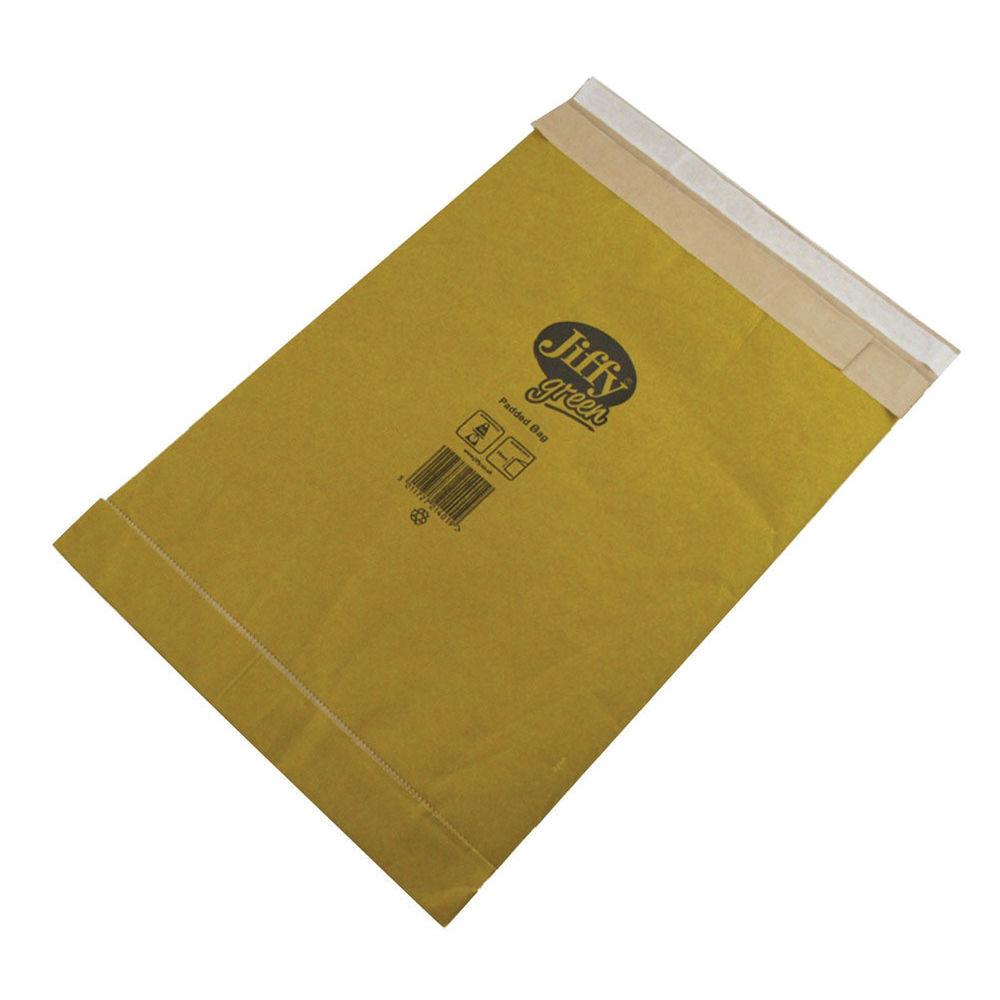 Jiffy Padded Bag Size 3 195x343mm Gold PB-3 (Pack of 10) JPB-AMP-3-10