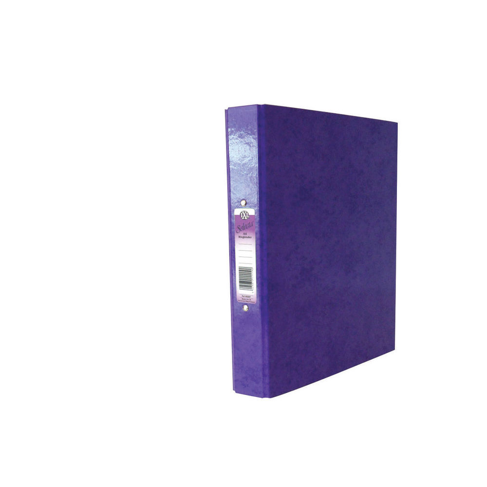 Concord Purple A4  IXL Selecta Ring Binder 25mm, Pack of 10 - 462287
