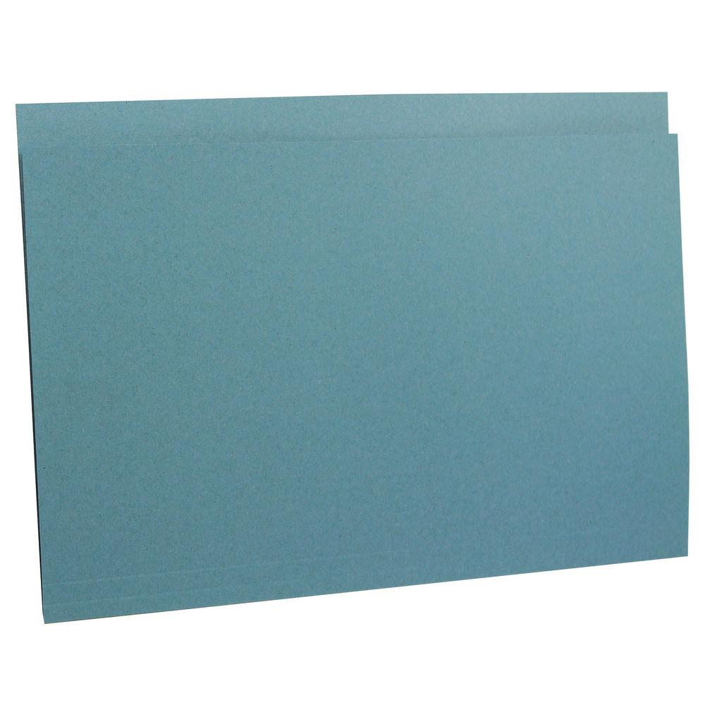 Guildhall Square Cut Folder Heavyweight Foolscap Blue (Pack of 100) FS290-BLUZ