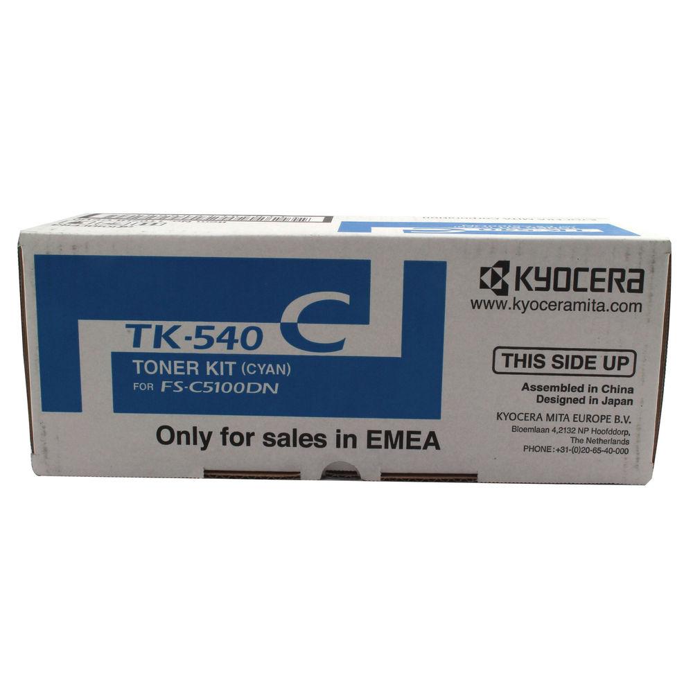 Kyocera TK-540C Cyan Toner Cartridge - TK-540C