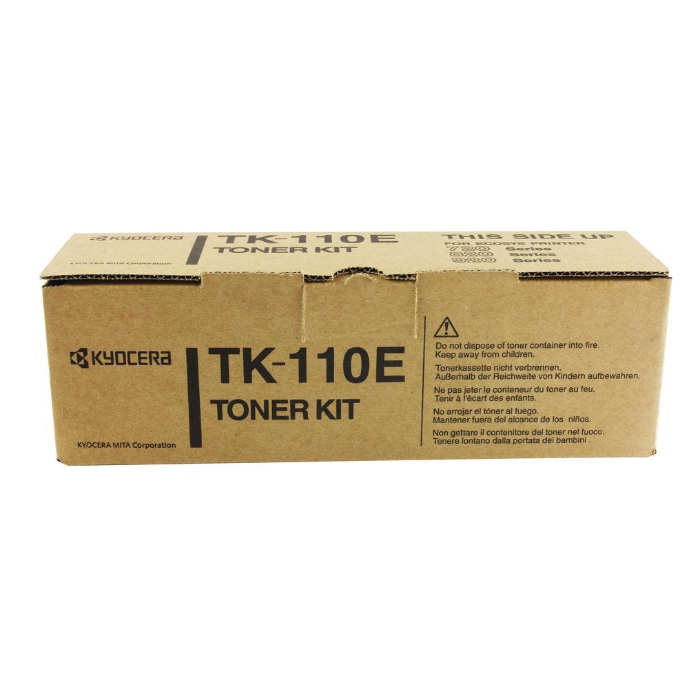 Kyocera TK110E Black Toner Cartridge - TK-110E