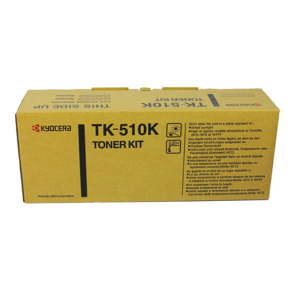 Kyocera TK-510K Black Toner Cartridge - High Capacity TK-510K