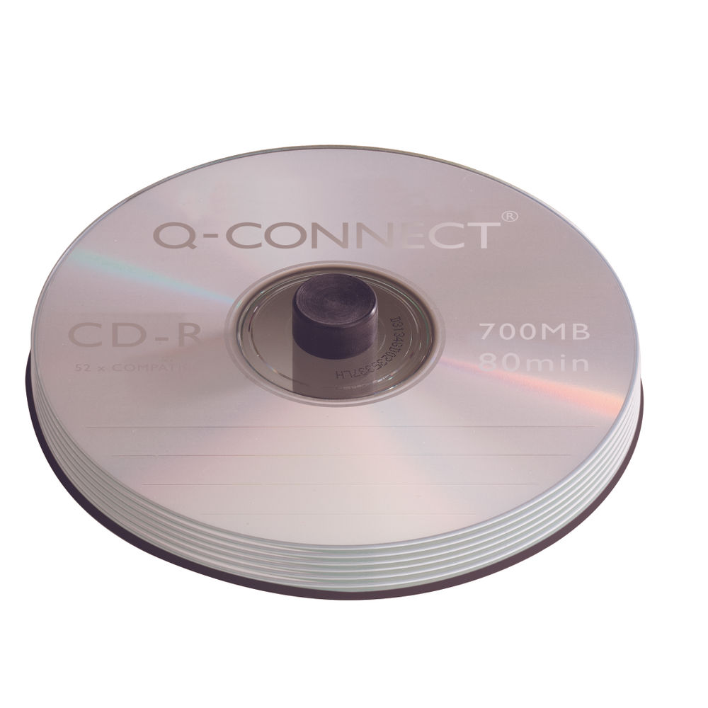 Q-Connect CD-R 700MB/80minutes Spindle (Pack of 50) KF00421