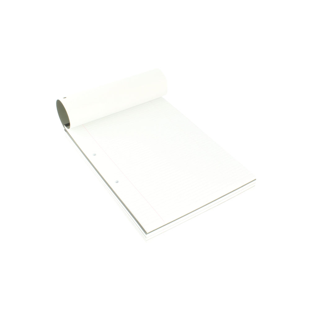 Q-Connect A4 Narrow Feint Ruled Refill Pads, Pack of 10 - KF02230