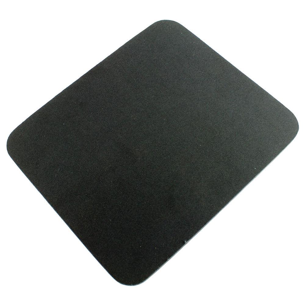 Q-Connect Black Foam Support Mouse Mat - 29702