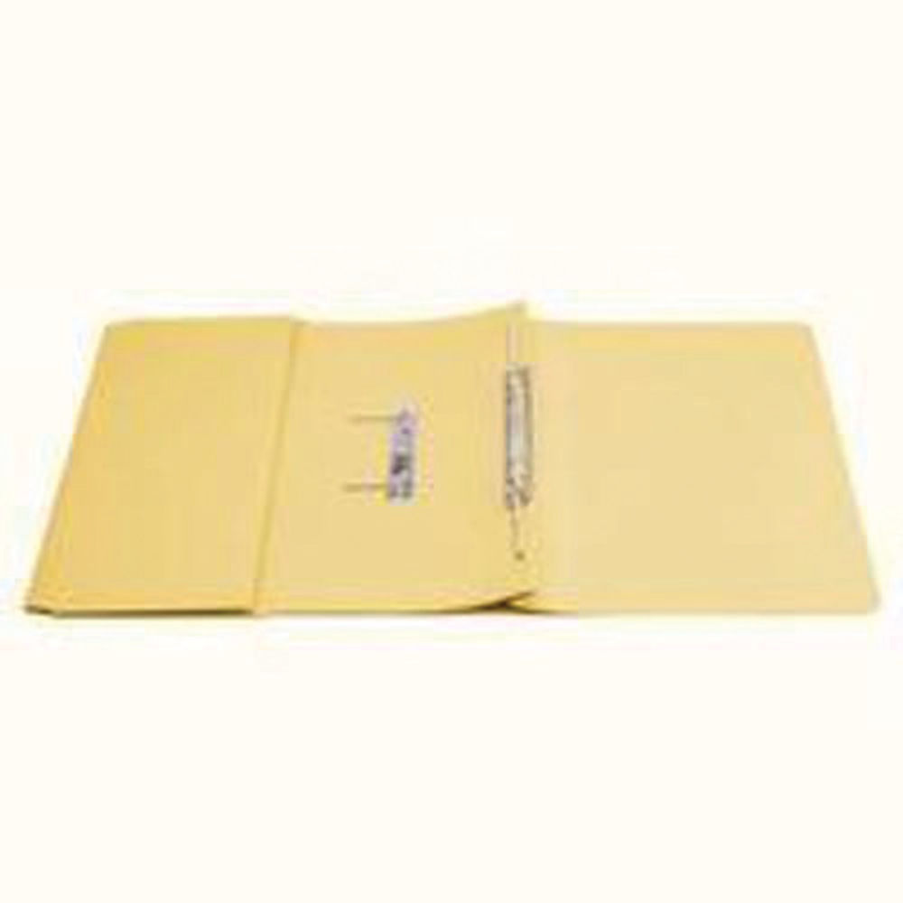 Q-Connect Yellow 35mm Transfer Pocket File, Pack of 25 - KF26099