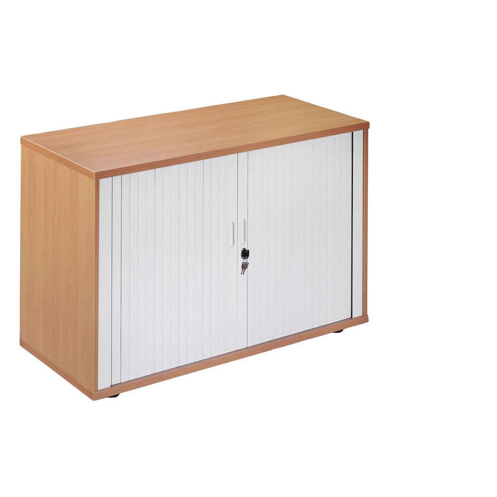 Arista Desk-High Side Tambour Box B Internal Steel Sides in Maple