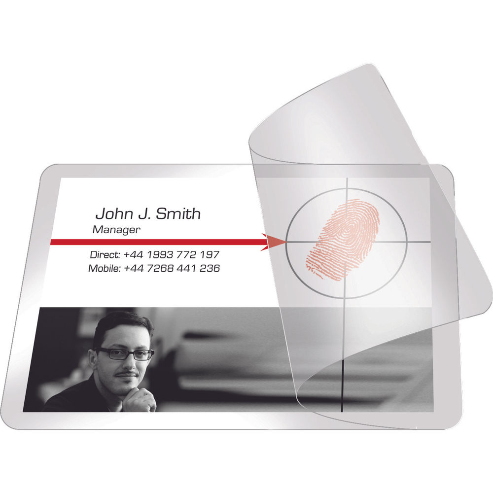 Pelltech Self-Laminating Card 66x100mm (Pack of 100) PLG25250