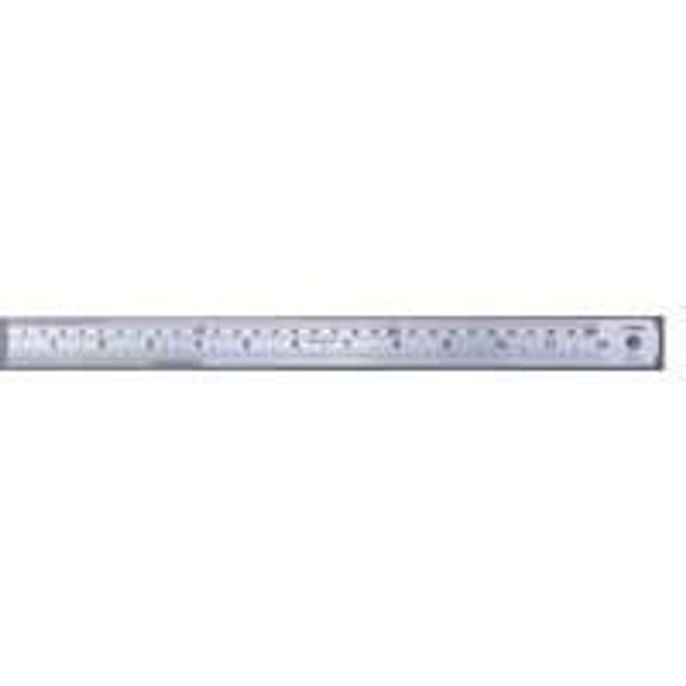 Linex 100cm / 1 Metre Steel Ruler - LXESL100