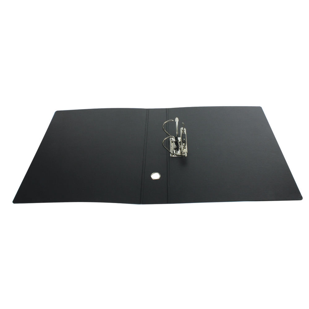 Leitz 180 Upright Board A3 Black Lever Arch File (Pack of 2) 310670095