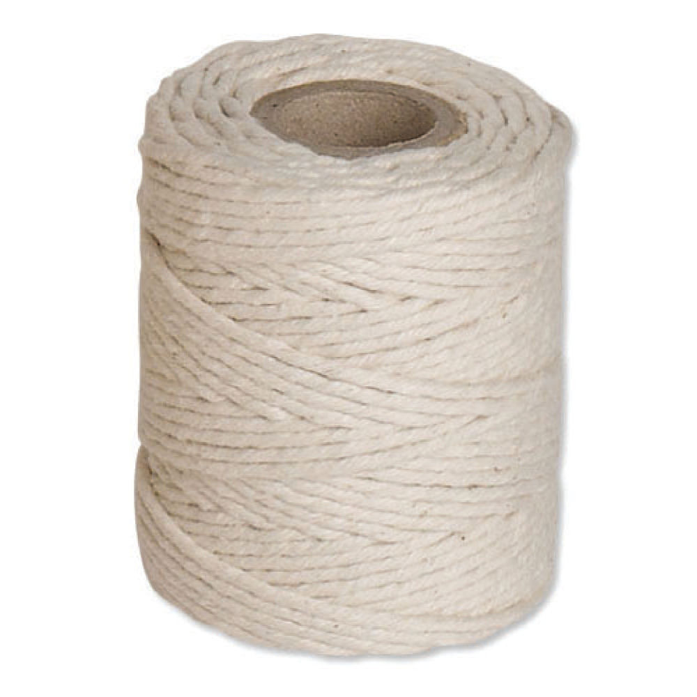 Flexocare Medium White Cotton Twine Reel 500g - Pack of 6 - 77658010