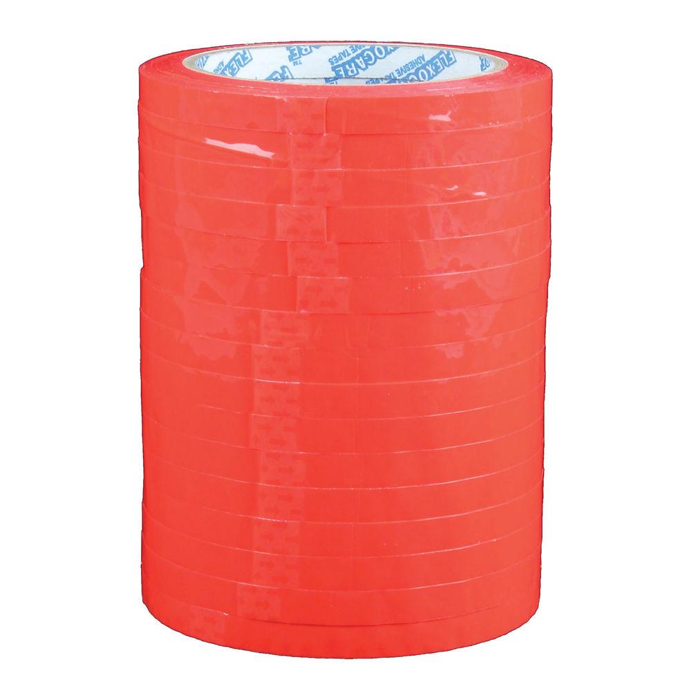 Bag Neck Sealer Tape Red 9mm X 66m Pack Of 6