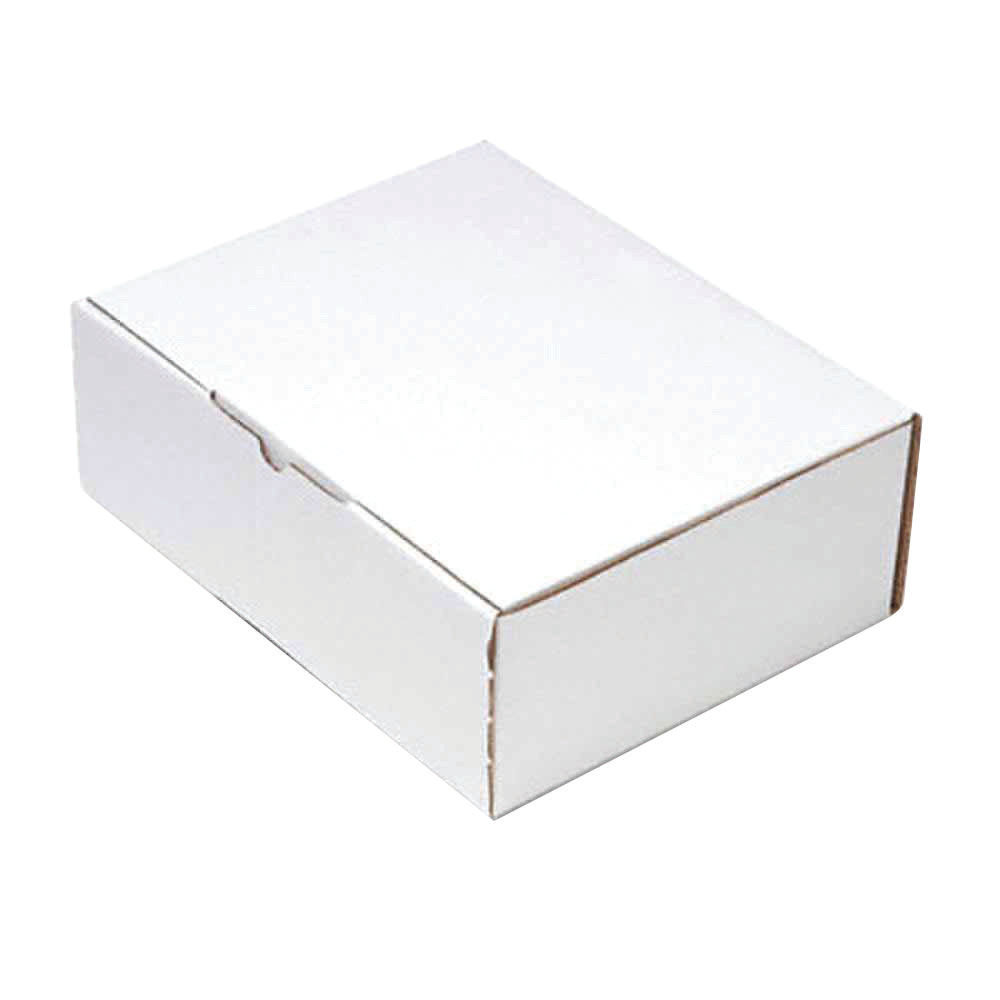 260 x 175mm White Mailing Boxes, Pack of 25 - PPAK-KING09-D
