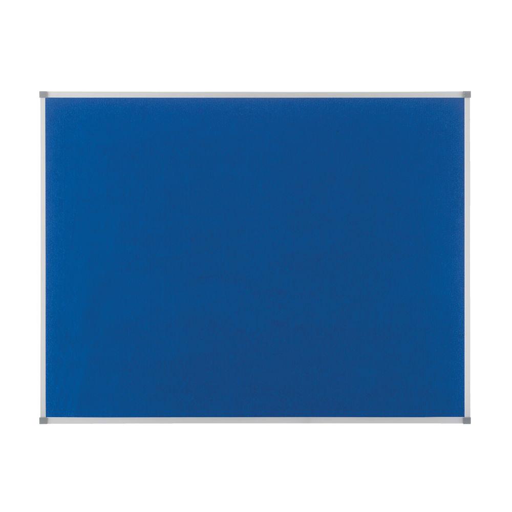 Nobo Classic Blue Felt Noticeboard 900x600mm 1900915