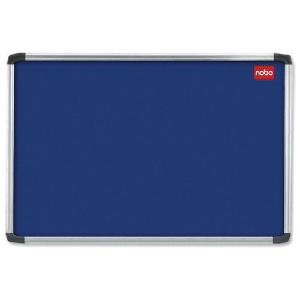 Nobo 1200 x 900mm Blue EuroPlus Felt Noticeboard - 30230175