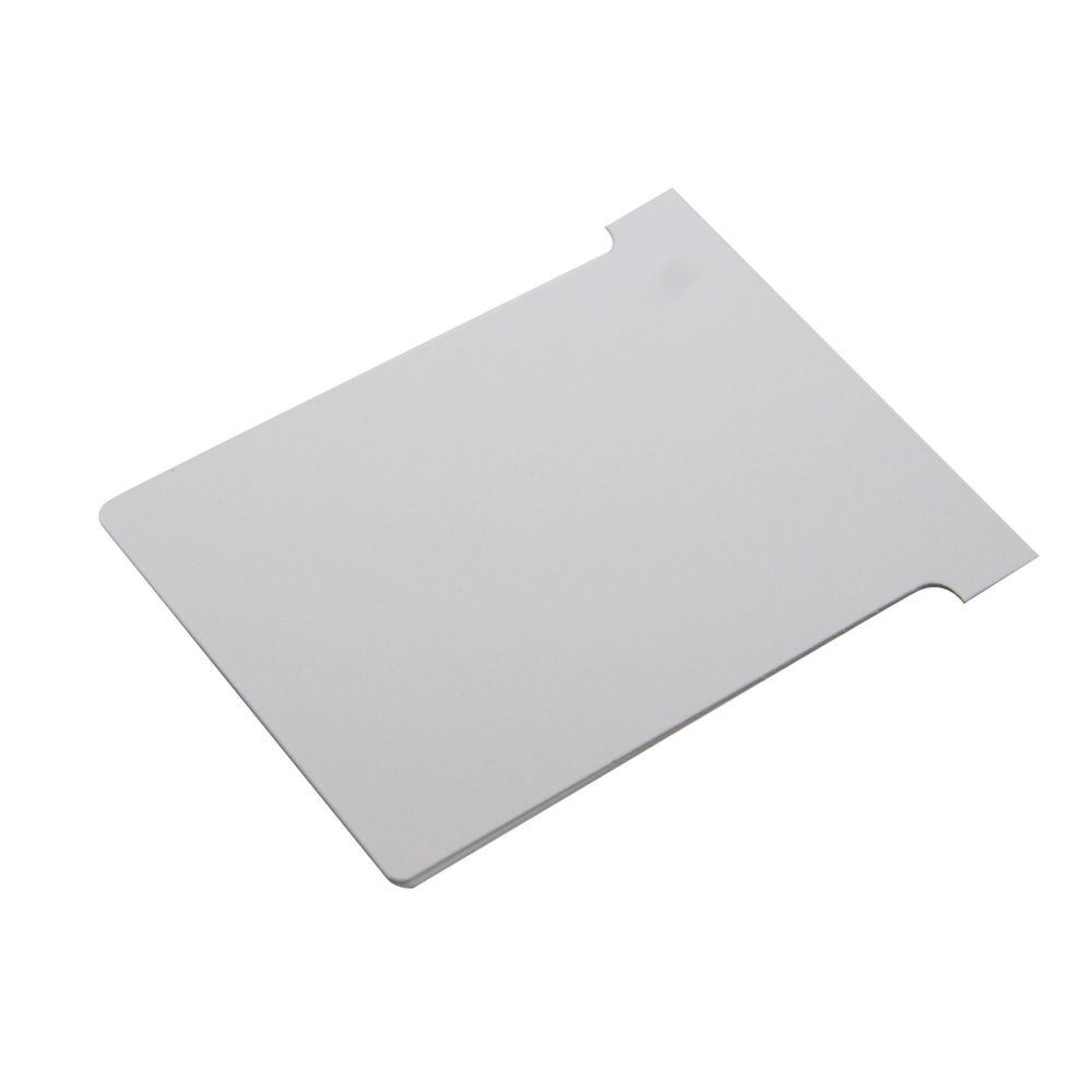 Nobo Size 3 White T-Cards, Pack of 100 | 2003002