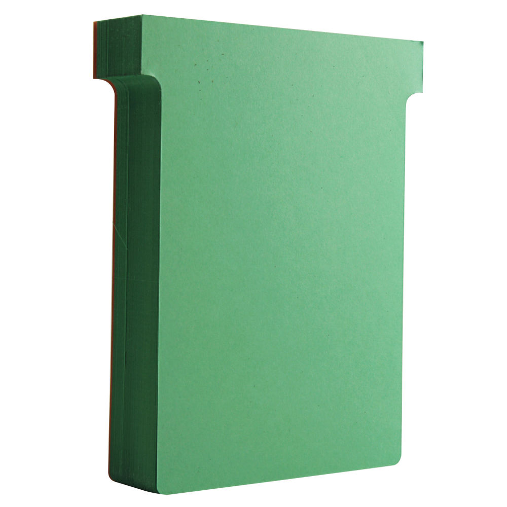Nobo Light Green T-Cards - Size 3 - (Pack of 100) - 32938913