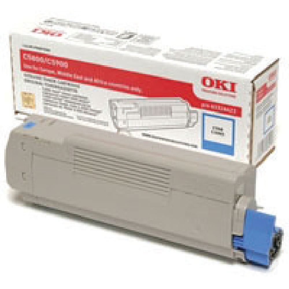 Oki C5800/C5900 Cyan Toner Cartridge 43324423