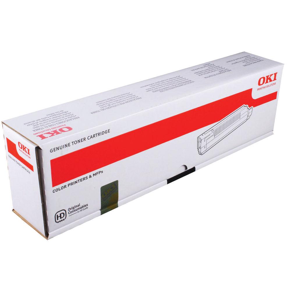 Oki C8600/C8800 Black Toner Cartridge - 43487712