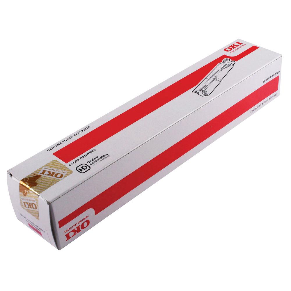 Oki Magenta Toner Cartridge - High Capacity 43459322