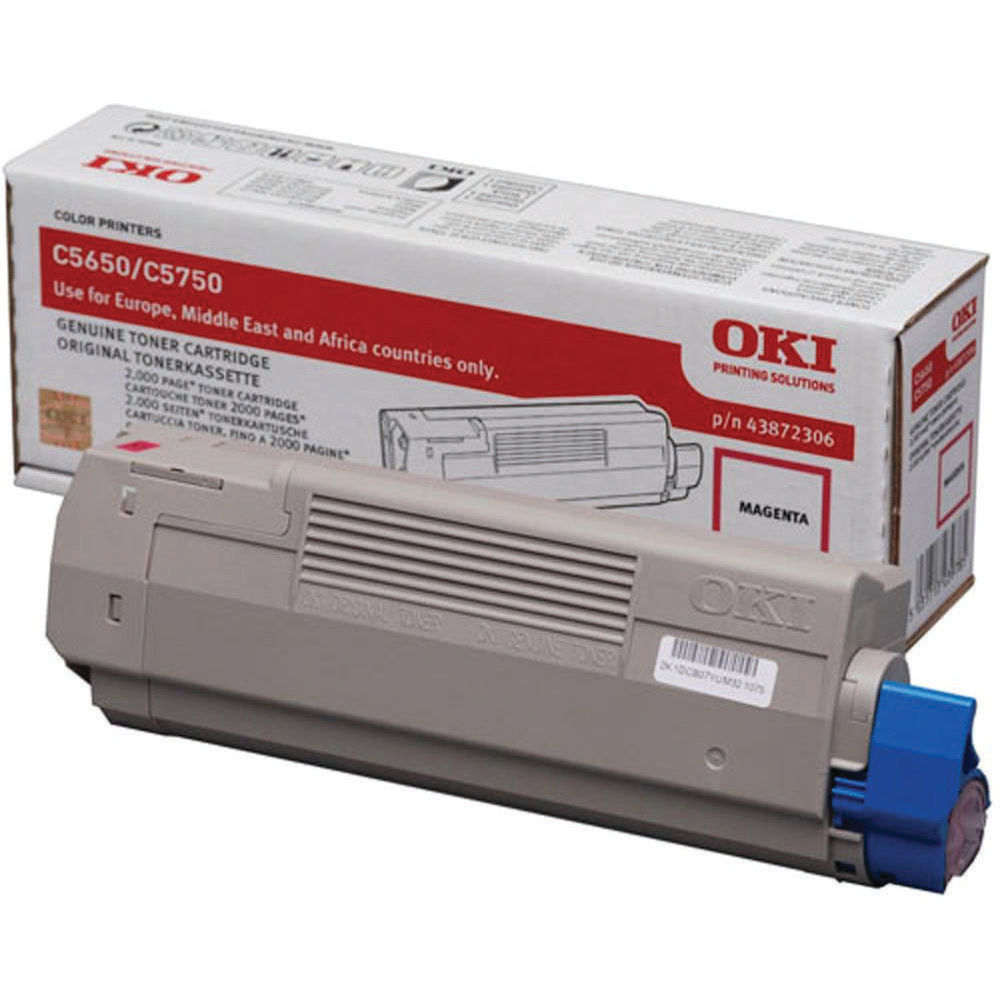Oki Magenta Toner Cartridge - 43872306