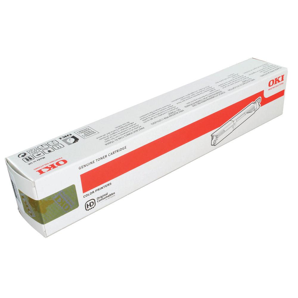 Oki Black Toner Cartridge High Capacity (Capacity: 2,500 pages) 43459332