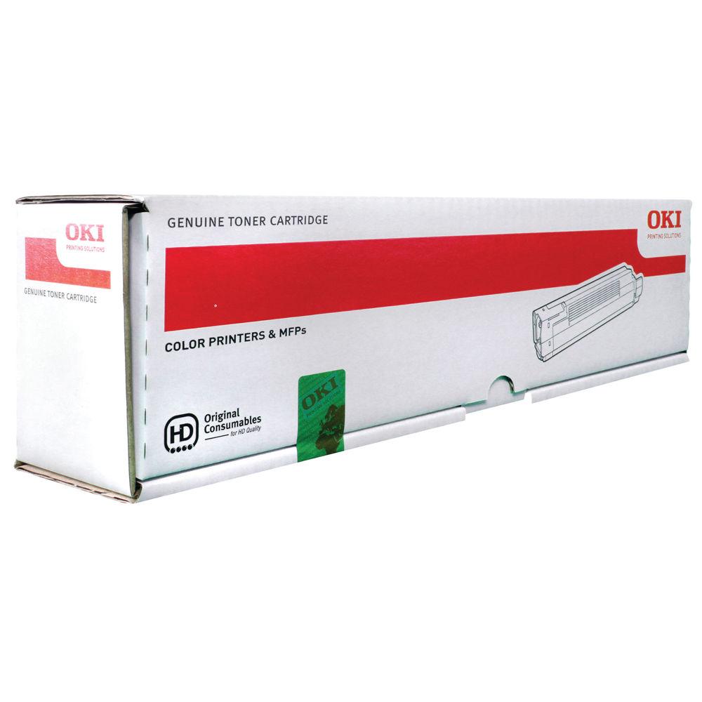 Oki Magenta Toner Cartridge (10,000 Page Capacity) 44059210