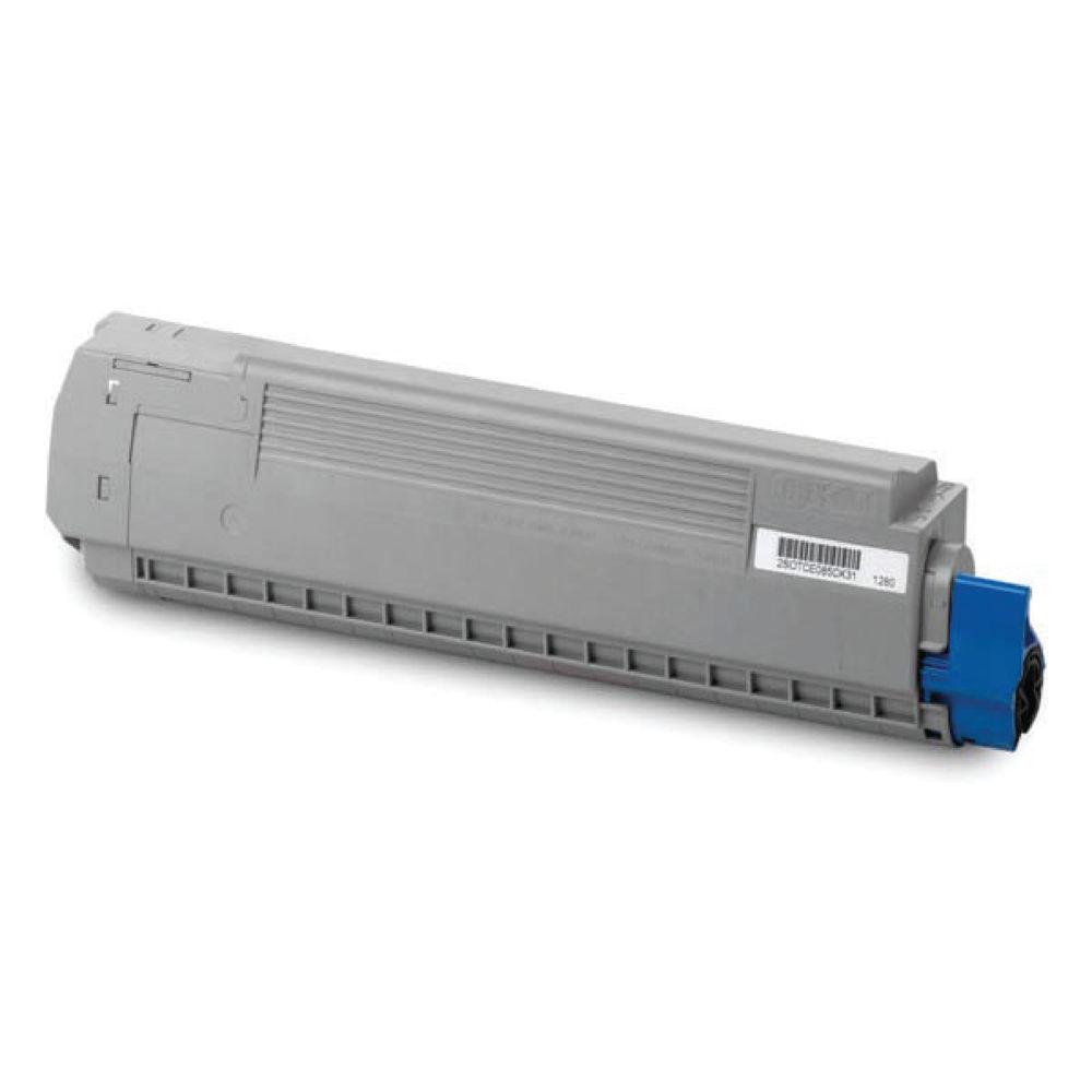 Oki Cyan Toner Cartridge – 44059211