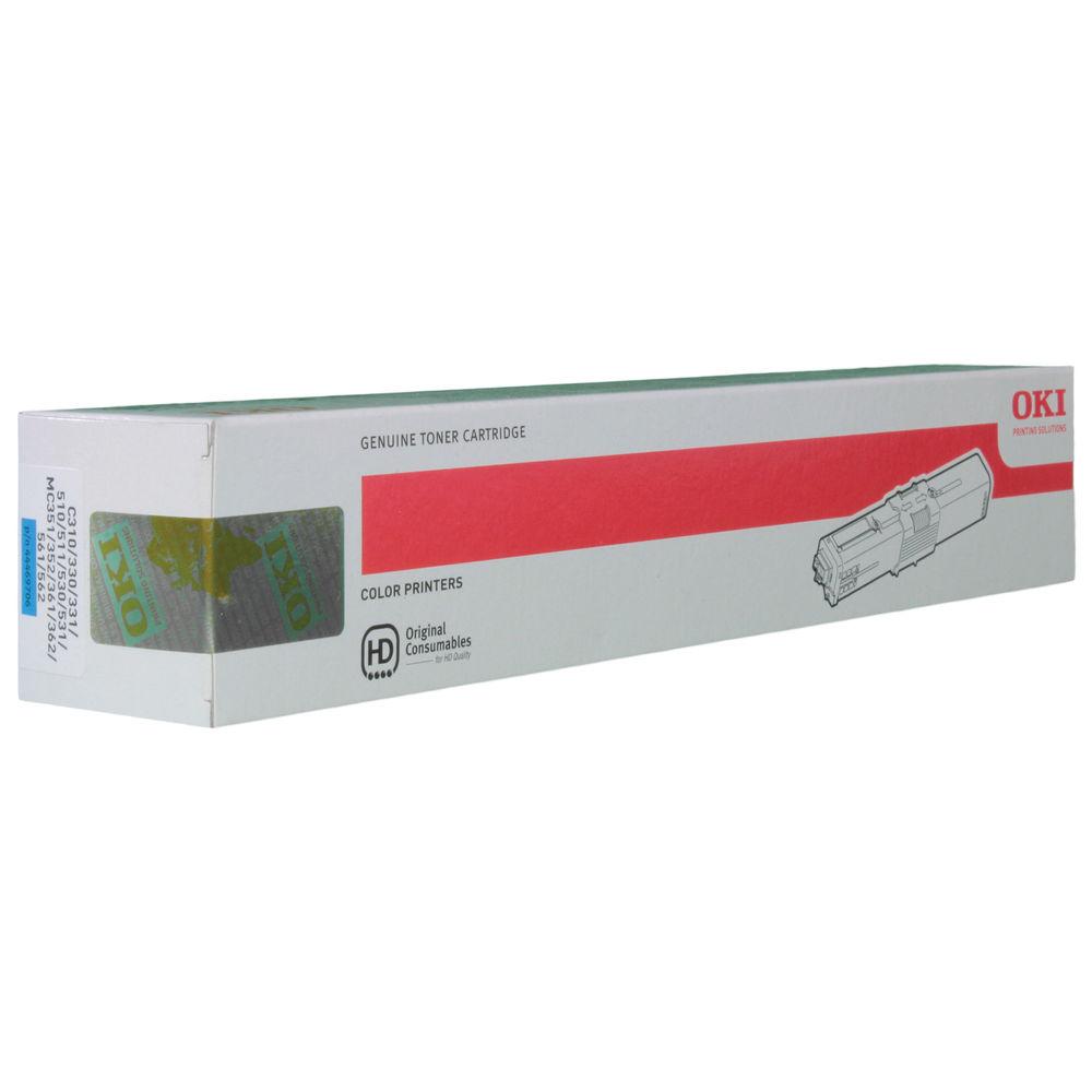 Oki Cyan Toner Cartridge - 44469706
