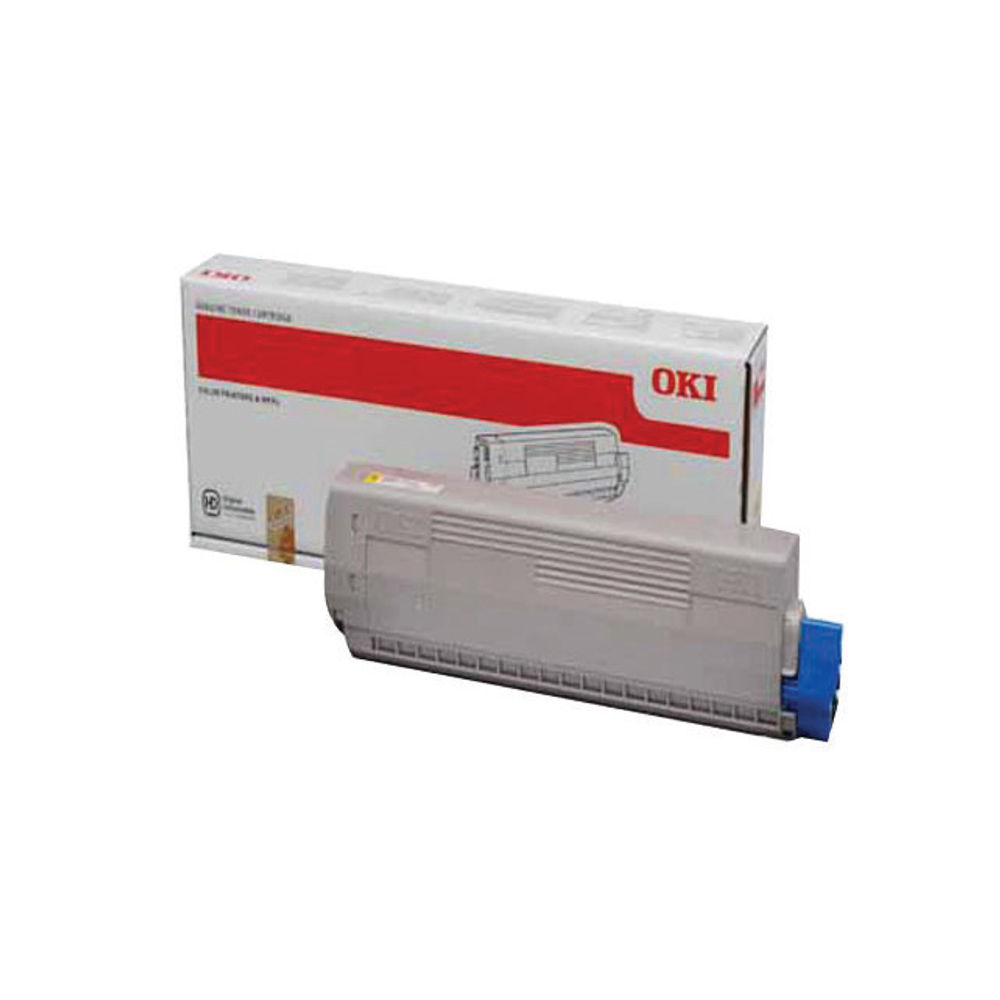Oki Yellow Toner Cartridge - 44844505