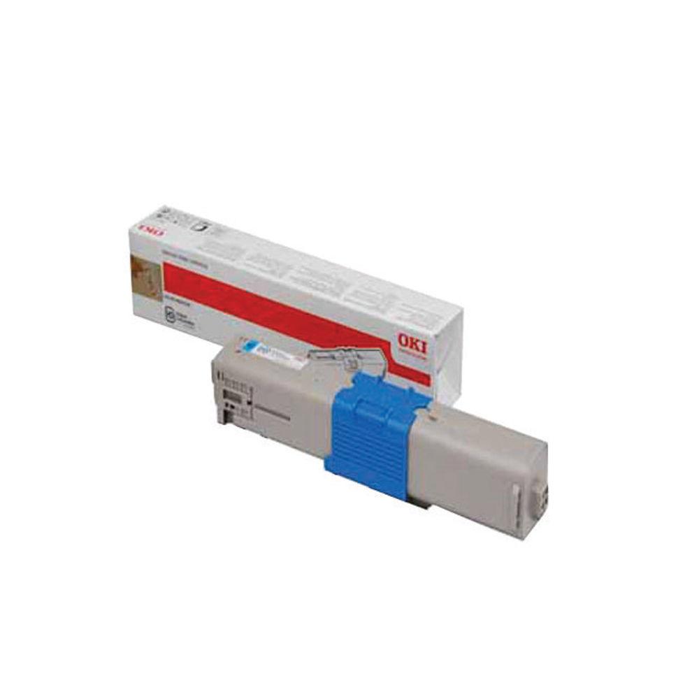 Oki Cyan Toner Cartridge - 44973535