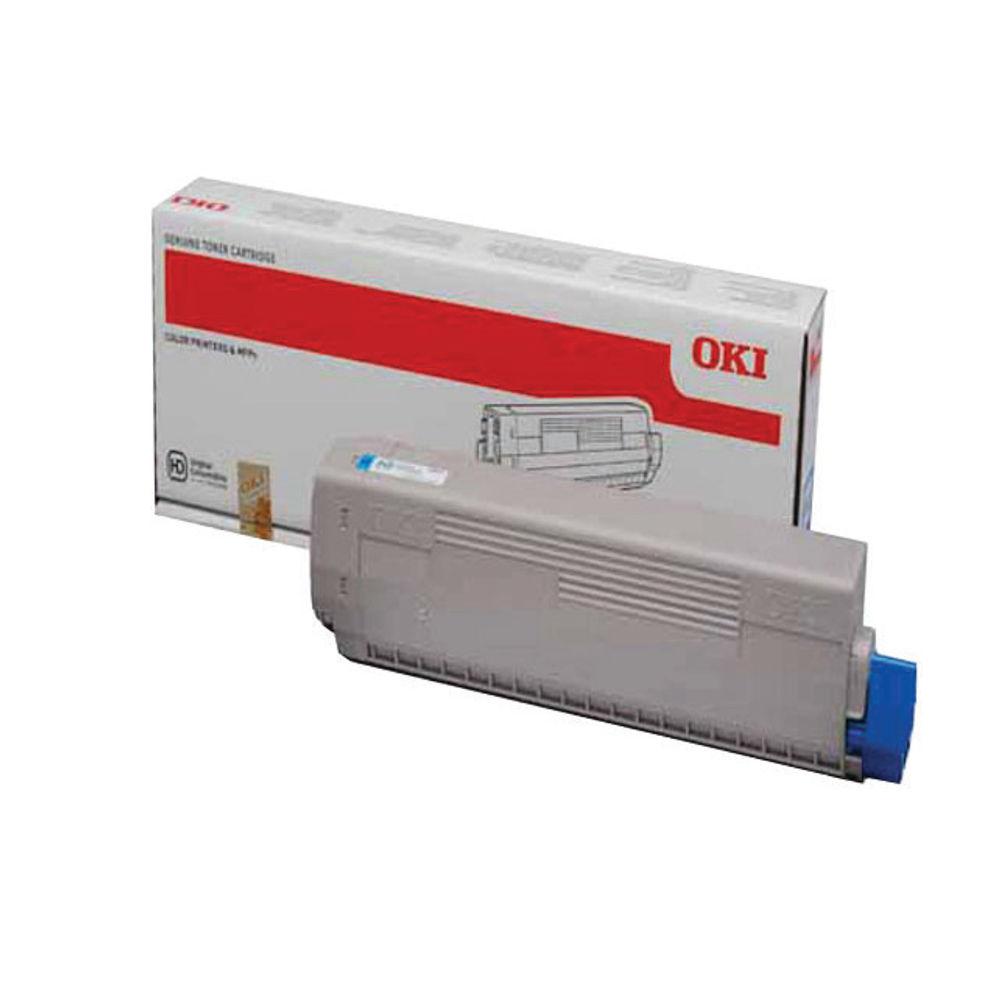 Oki Cyan Toner Cartridge - 44844615