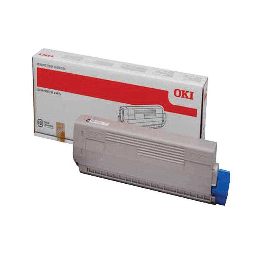 Oki Black Toner Cartridge - 44844616