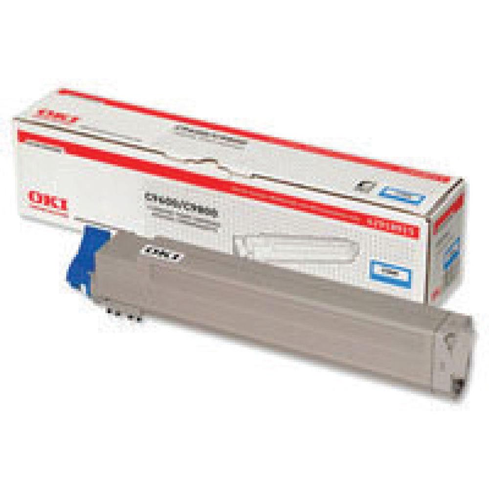 Oki Cyan Toner Cartridge - 42918915
