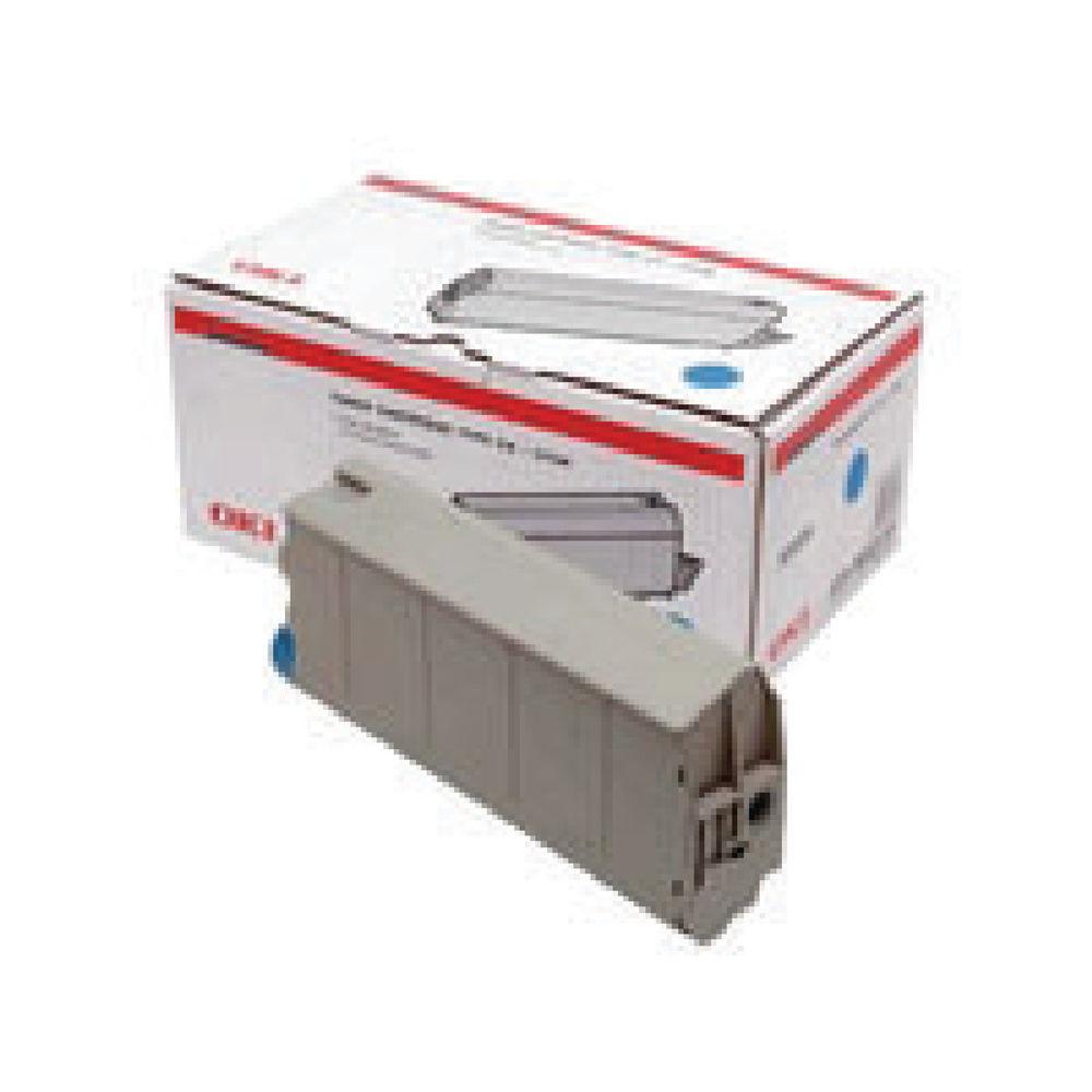 Oki Cyan Toner Cartridge - 44059107