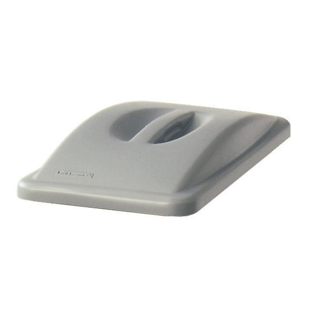Rubbermaid Grey Slim Jim Handle Top Lid - 2688-88-GRY